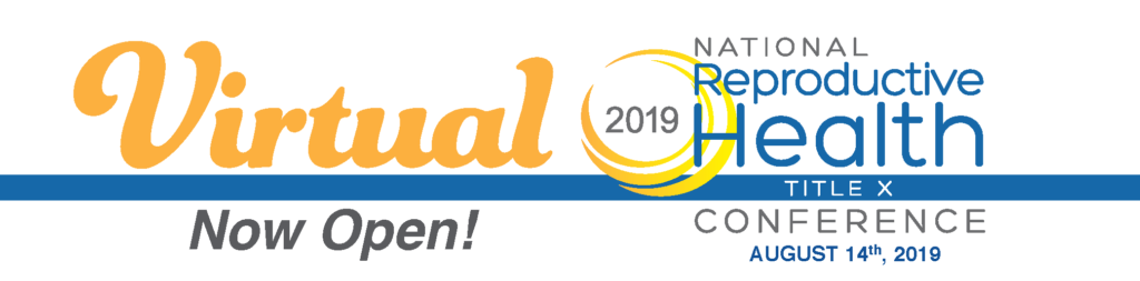 Virtual National Reproductive Health Conference 2019 | NCTC